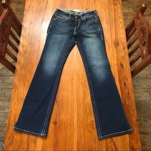 """Ariat REAL Riding Jeans Bootcut Size 28L 35"""" Long"""
